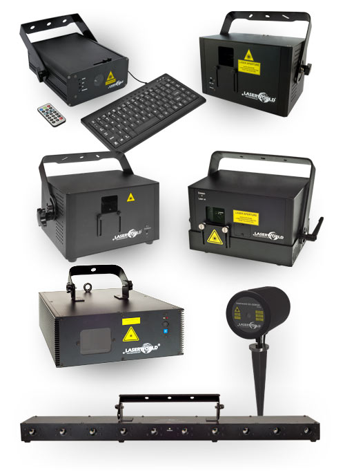 Laserworld laser products