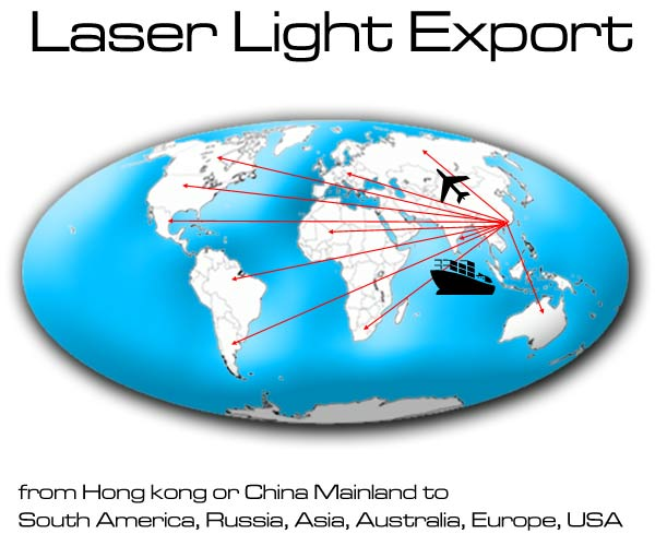 laser light export