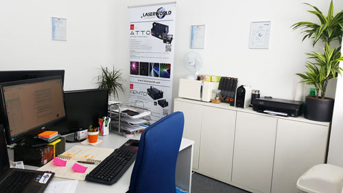 Laserworld UK Office office 500